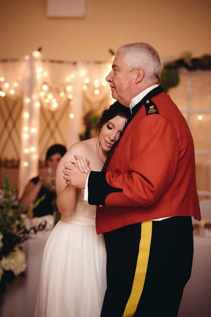 father daughter dance st leo church wedding