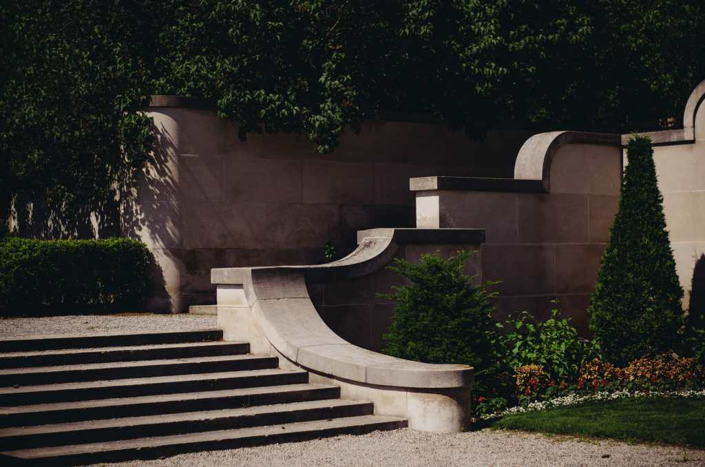 stone stairs leading to parkwood estate