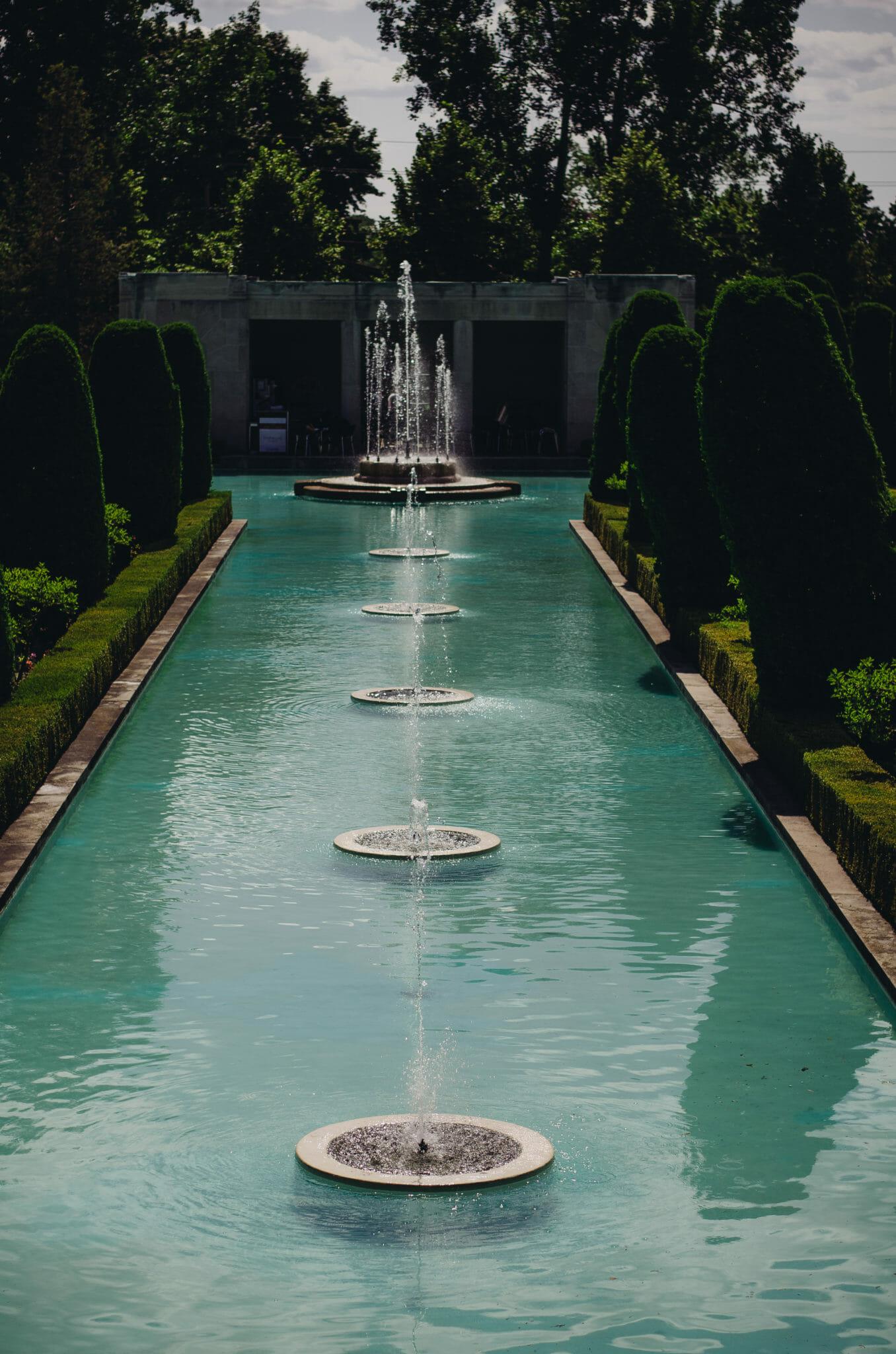 parkwood estate garden fountain