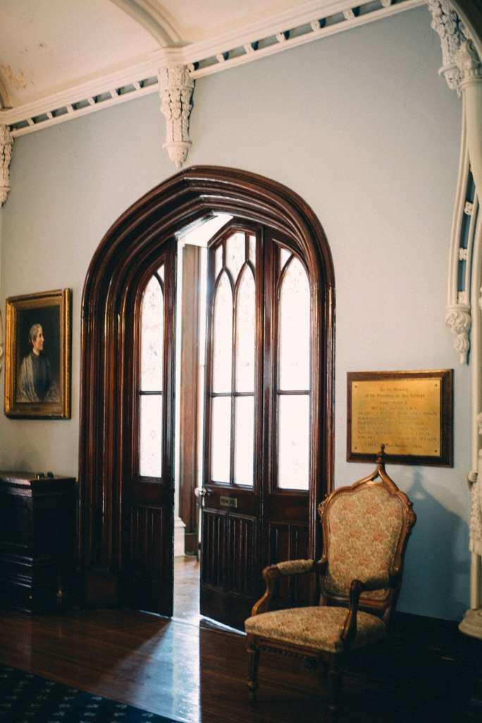 principals office in trafalgar castle school