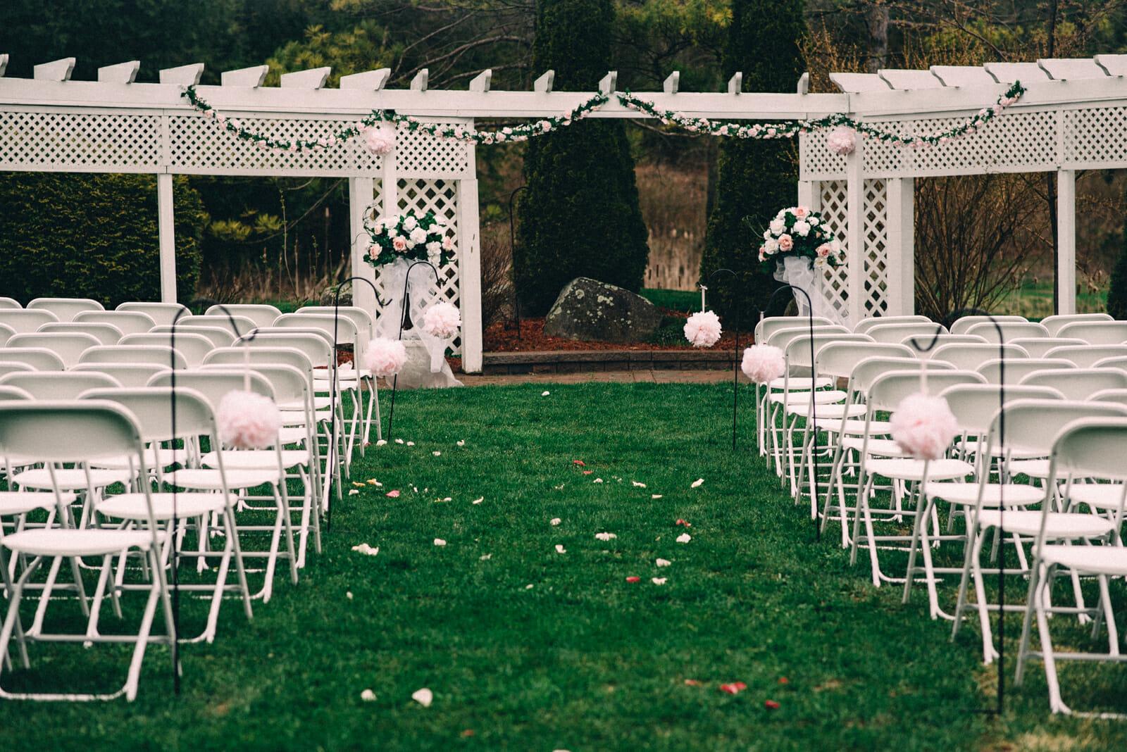 trillium trails wedding ceremony oshawa