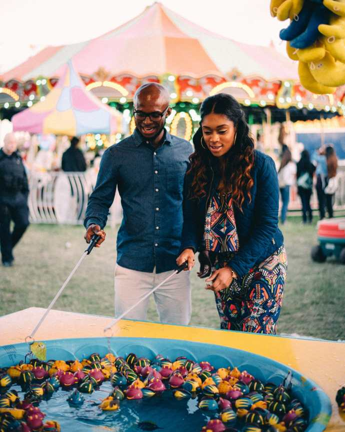 brooklin spring fair carnival games