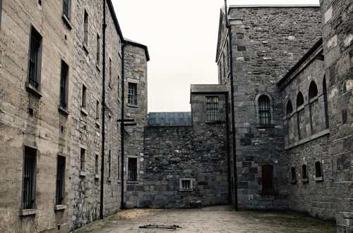 stone breakers yard of kilmainham gaol ireland