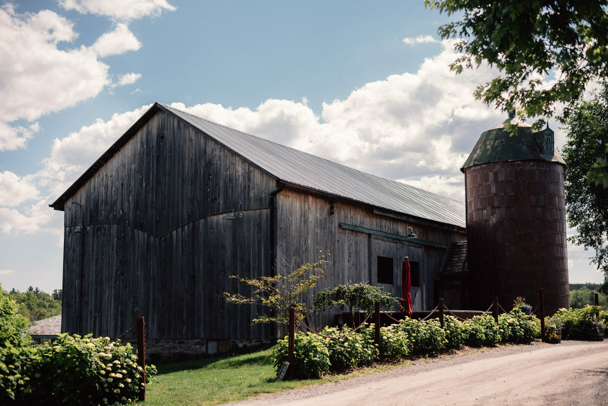century barn wedding venue