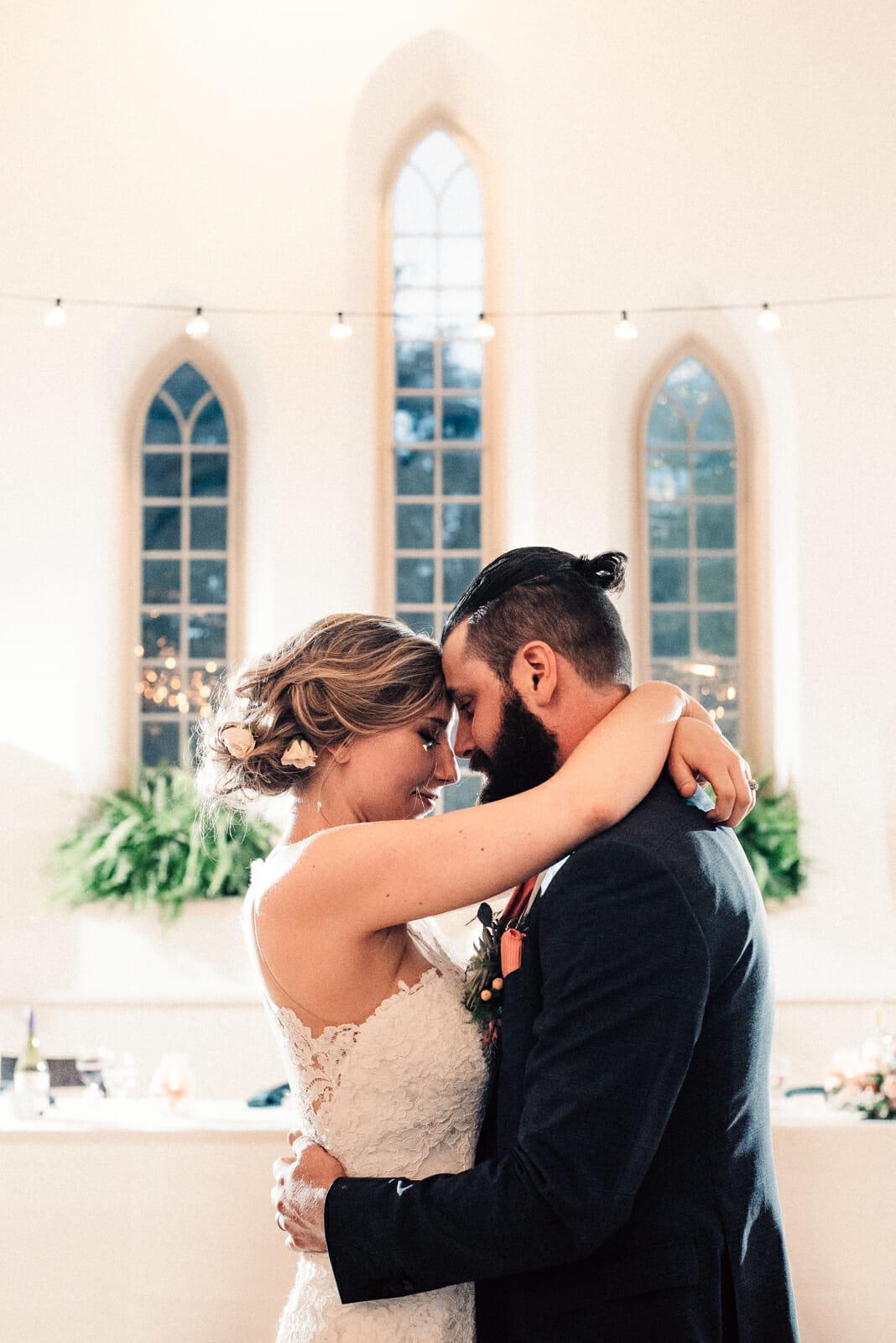enoch turner schoolhouse wedding reception photos first dance