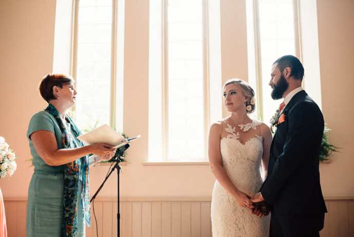 wedding ceremony at toronto wedding venues