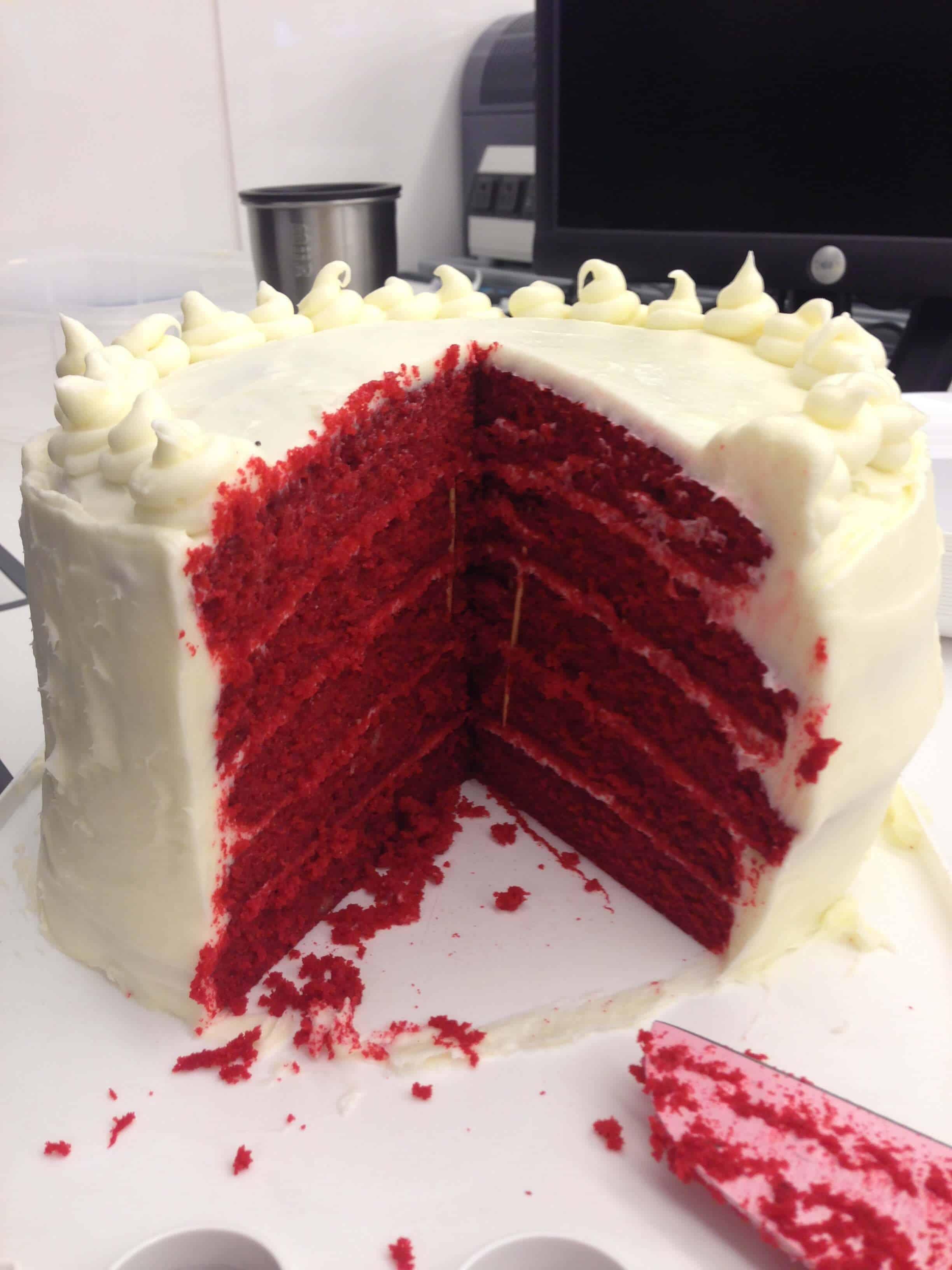 Red Velvet Cake Chelsweets