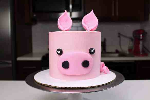Easy Baby Pig Cake Chelsweets