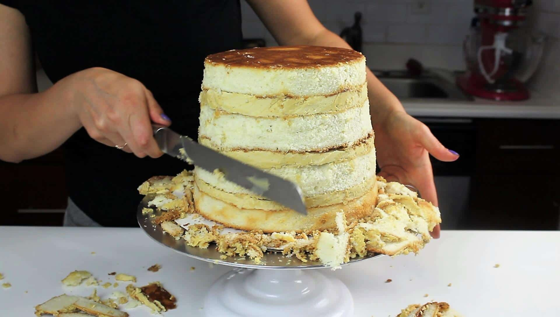 Best Vanilla Layer Cake Recipe – Chelsweets