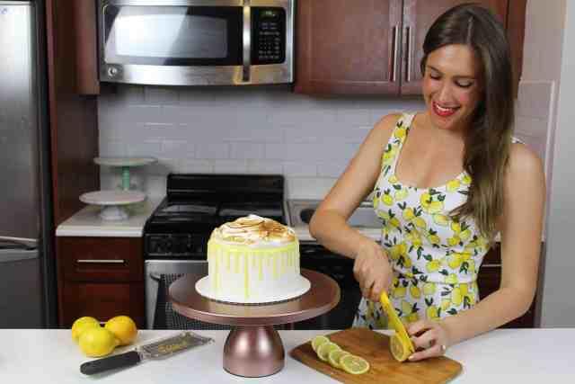 me with lemon cake