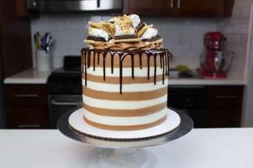 smores cake 1
