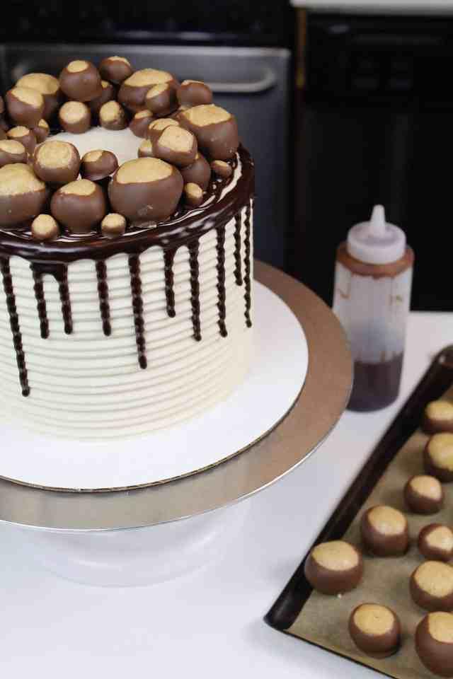 side finished cake