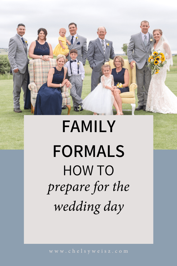 How to get ready for family formals