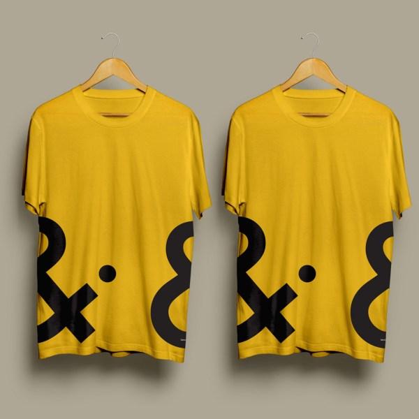 Cheltenham Design Festival Tshirt - 2 Together