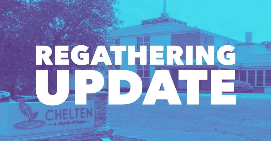 Chelten Regathering Update
