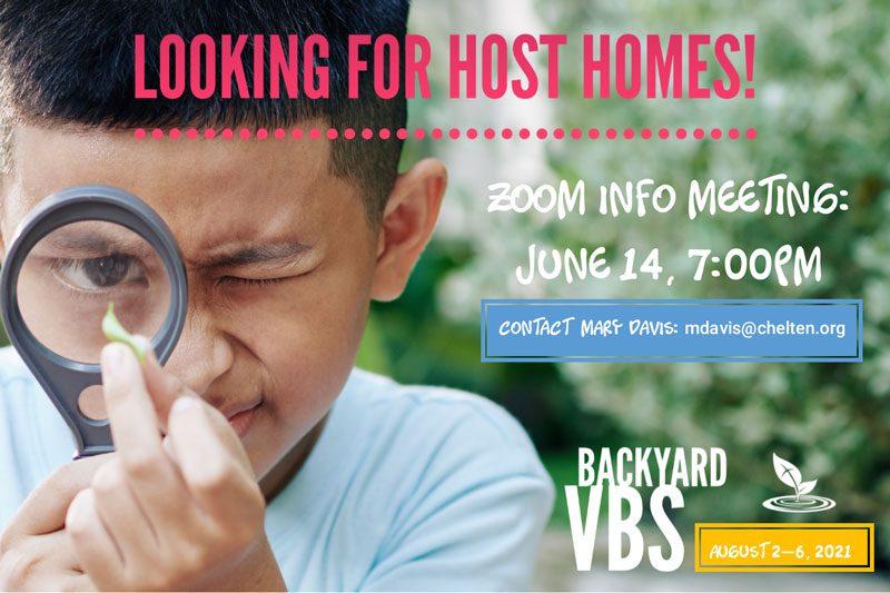 VBS Host Home Info