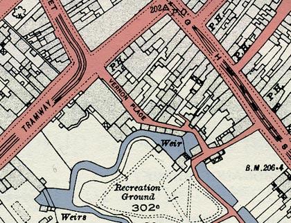 1921map_vernonplace