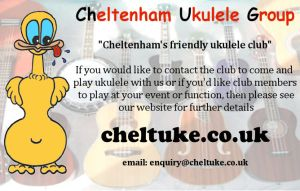 Cheltenham ukulele business card cheltenham ukulele group click on this link to download a page of 10 chug business cards that you can print and give away to everyone who might be interested reheart Images