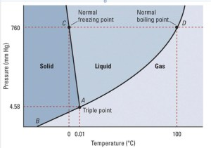 Boiling Cold Water Under Reduced Pressure: Phase Diagram