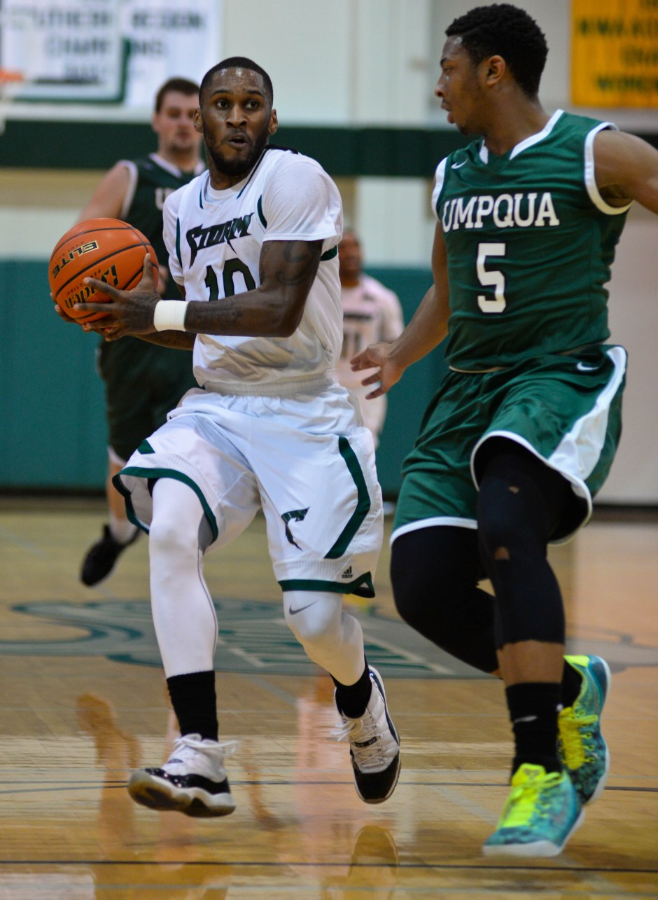 Bowen moves past a defender in a game this past season.