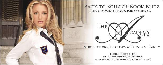 The Academy Giveaway Banner