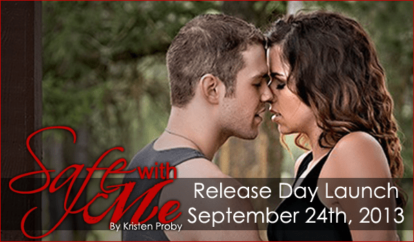 Release Day Launch Banner for Safe With Me