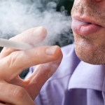 タバコ、害、喉、タバコの煙、煙