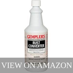 Gempler's Eco-Friendly RCQ rust converter
