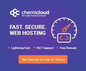 Chemicloud Web Hosting