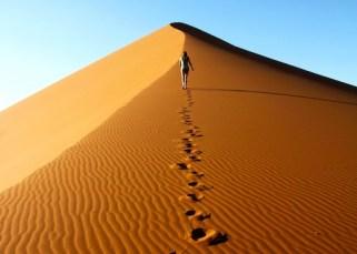 La marche dans le désert 5