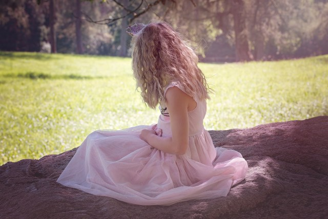 La robe rose 1