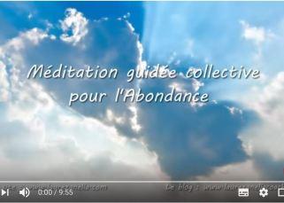 Méditation guidée collective pour l'Abondance 6