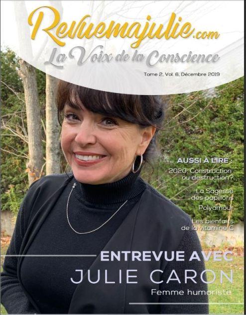 Revue Ma Julie - la Voie de la Conscience, no. 2.6, à télécharger gratuitement 1
