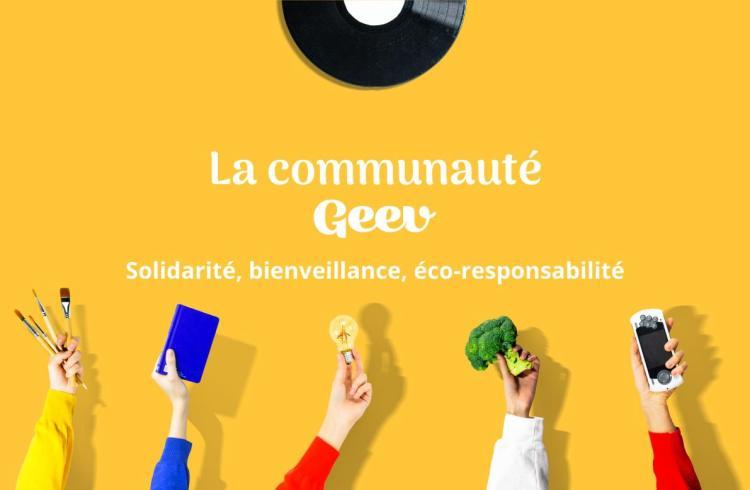Geev, appli solidaire et éco-responsable