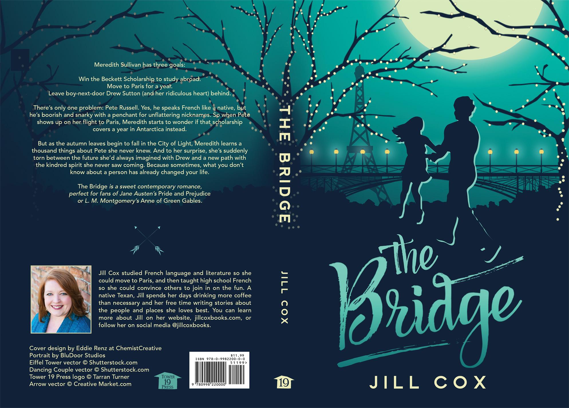 New Book Cover for The Bridge | ChemistCreative