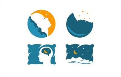 custom sleep logos for treat sleep denton texas