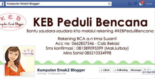 Fanspage KEB