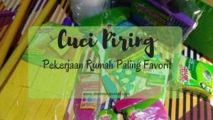Cuci Piring, Pekerjaan Rumah Paling Favorit
