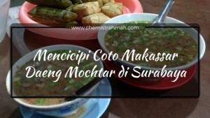 Coto Makassar Daeng Mochtar di Surabaya