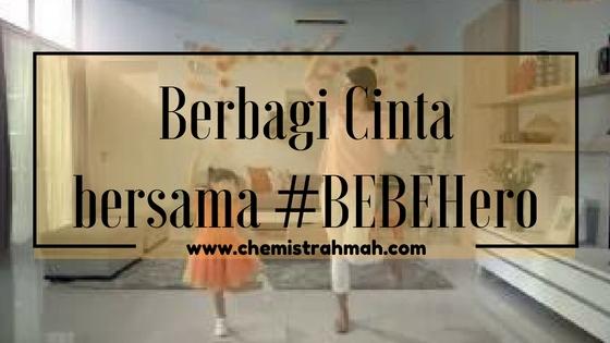 Berbagi Cinta bersama #BEBEHero