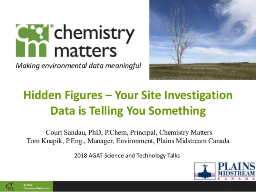 Hidden Figures: Your Site Investigation Data is Telling You Something