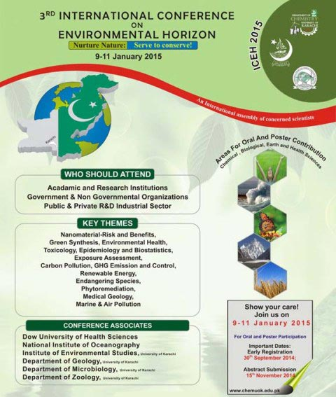 3rd International Conference on Environmental Horizon