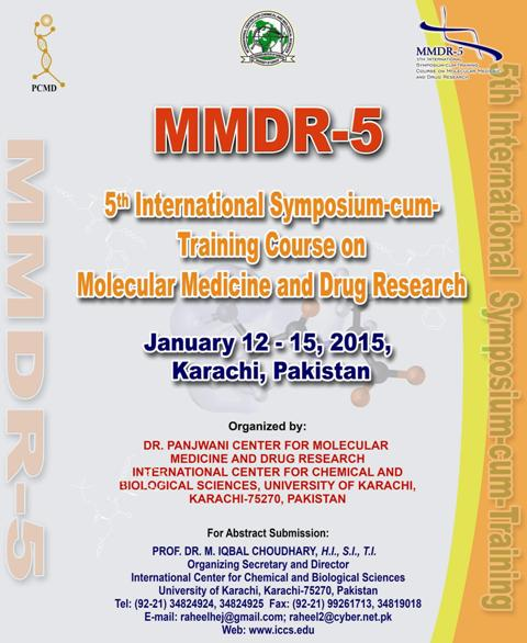 5th International Symposium-cum-Training Course on Molecular Medicine and Drug Research