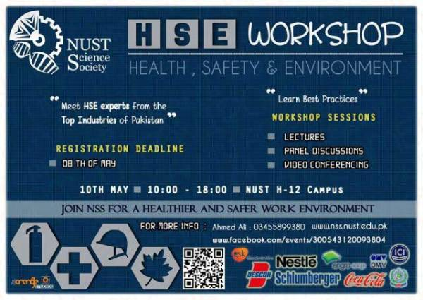 Health Safety and Environment Workshop