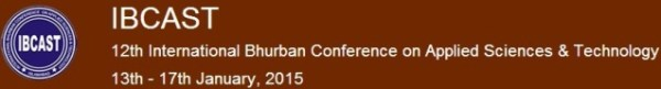 12th International Bhurban Conference on Applied Sciences and Technology