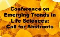 International Conference on Emerging Trends for Life Sciences