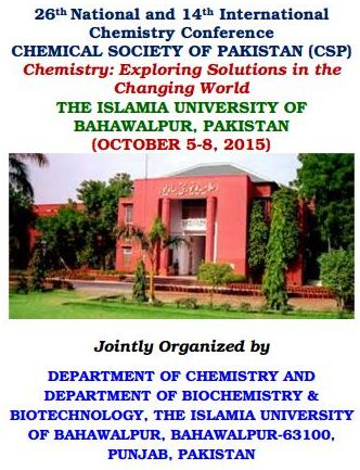 26th National and 14th International Chemistry Conference ...