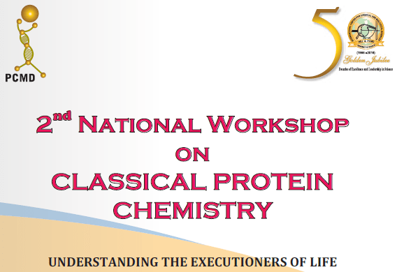 2nd National Workshop on Classical Protein Chemistry