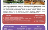 Symposium on Recent Trends in Chemical Sciences 2016