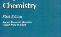 Organic Chemistry R. T. Morrison and Boyd